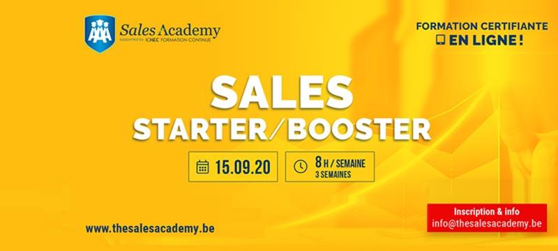 Sales starter booster